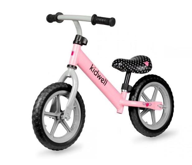 KIDWELL Rowerek biegowy Rebel Pink - 558833 - zdjęcie