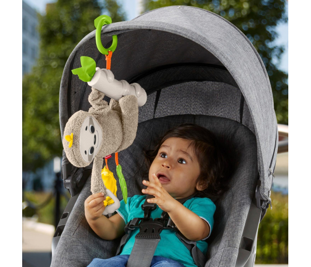 Fisher-Price Aktywizujący leniwiec do wózka - 559557 - zdjęcie 3