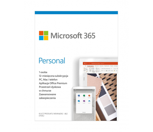 Microsoft 365 Personal - 557548 - zdjęcie 2