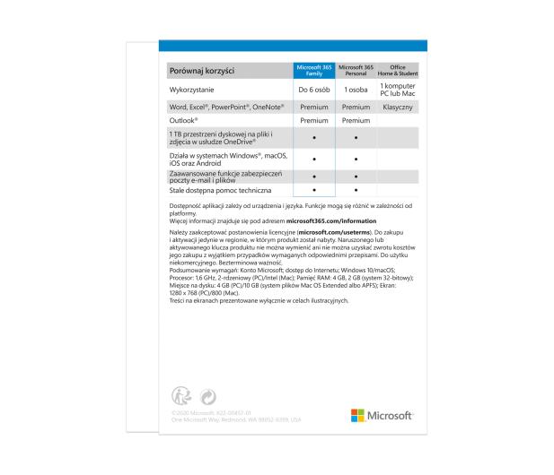 Microsoft 365 Family - 559656 - zdjęcie 3