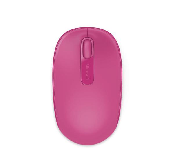 Microsoft 1850 Wireless Mobile Mouse Różowy - 247271 - zdjęcie