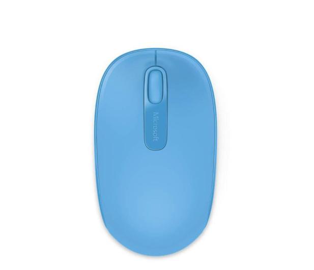 Microsoft 1850 Wireless Mobile Mouse Błękitny - 247270 - zdjęcie