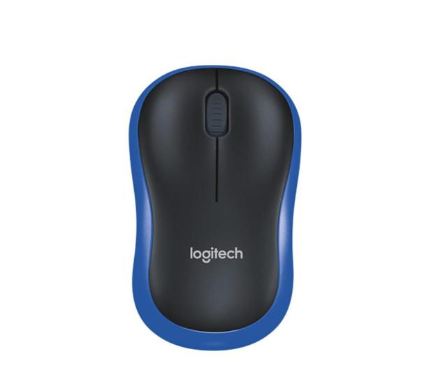 Logitech M185 niebieska - 69076 - zdjęcie