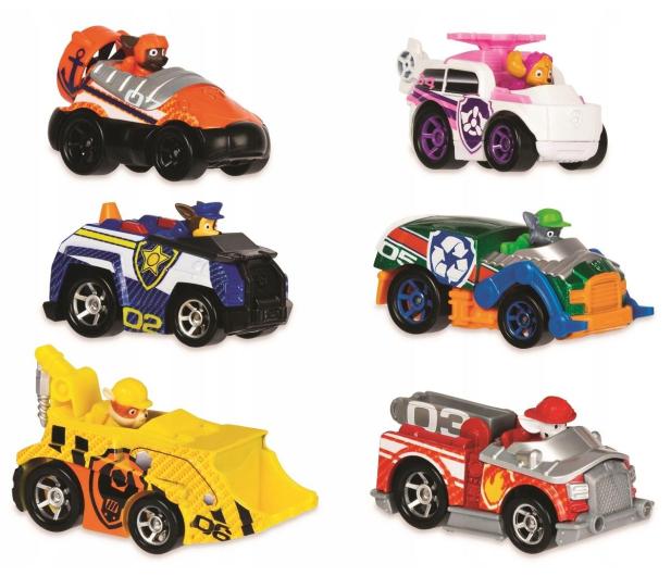 Spin Master Psi Patrol zestaw 6 aut - 561950 - zdjęcie 2