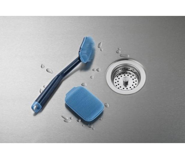 Joseph Joseph Szczotka do naczyń +myjka niebieska CleanTech - 557411 - zdjęcie 2