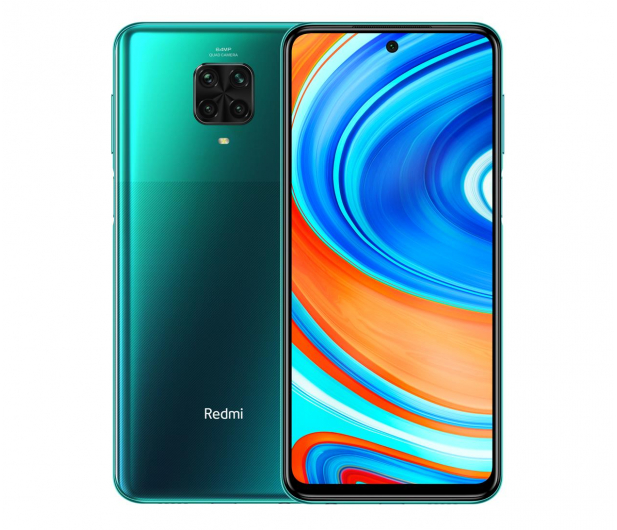 Xiaomi Redmi Note 9 Pro 6/128GB Tropical Green - 566374 - zdjęcie