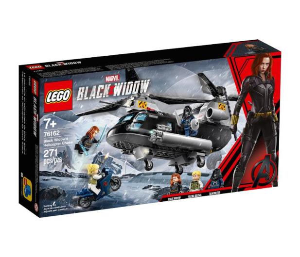 LEGO Marvel Super Czarna Wdowa i pościg helikopterem - 567434 - zdjęcie