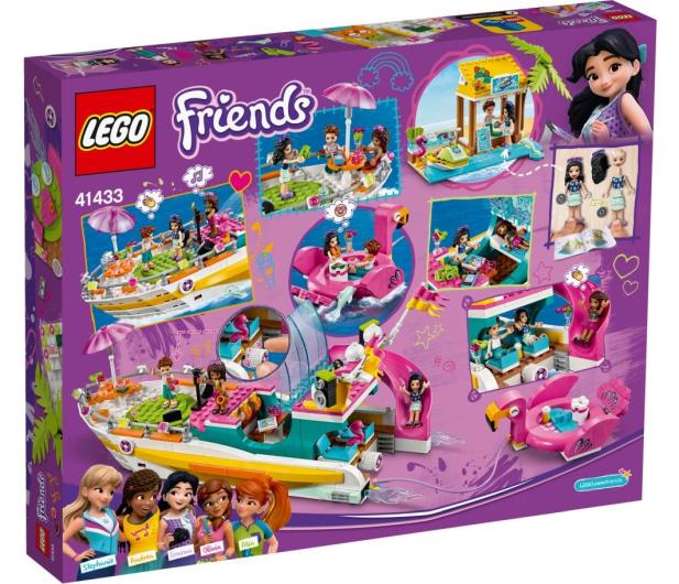 LEGO Friends Łódź imprezowa - 568445 - zdjęcie 4