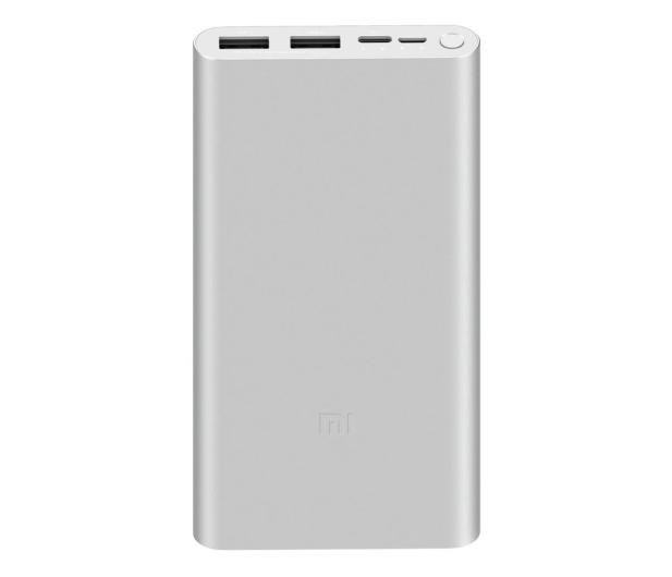 Xiaomi Mi 10000mAh 18W Fast Charge Power Bank 3 (Srebrny) - 550913 - zdjęcie
