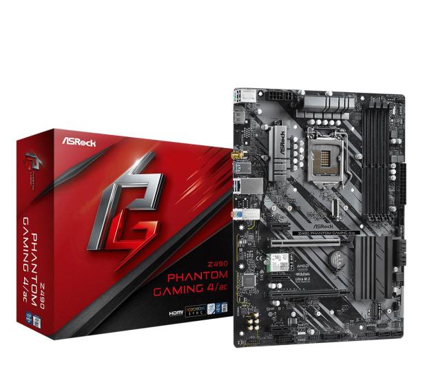 ASRock Z490 Phantom Gaming 4/ac - 564381 - zdjęcie