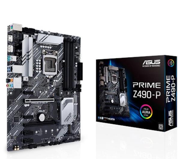 ASUS PRIME Z490-P - 561112 - zdjęcie