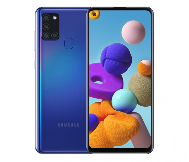 Samsung Galaxy A21s SM-A217F Blue - 557627 - zdjęcie
