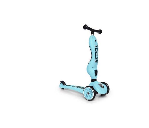 Scoot & Ride Highwaykick 1 Jeździk i hulajnoga 2w1 Blueberry - 573304 - zdjęcie 4