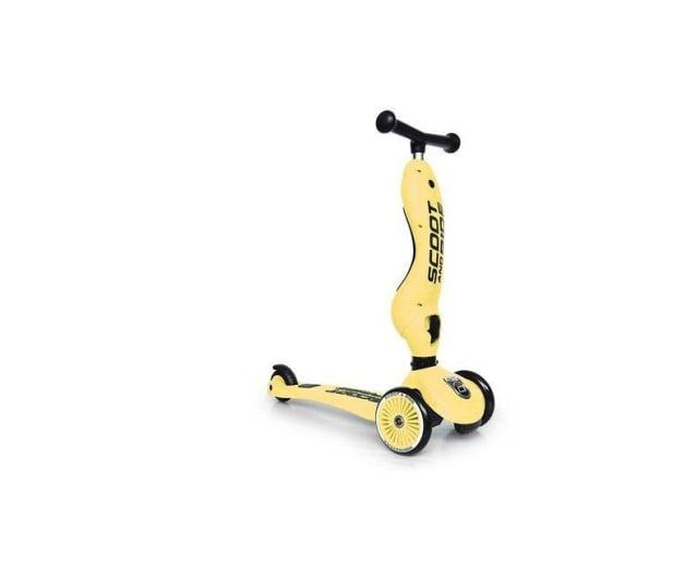 Scoot & Ride Highwaykick 1 Jeździk i hulajnoga 2w1 Lemon - 573307 - zdjęcie 2