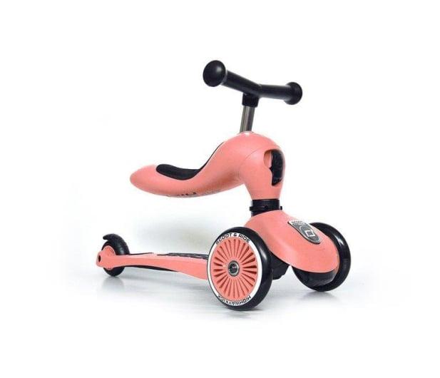 Scoot & Ride Highwaykick 1 Jeździk i hulajnoga 2w1 Peach - 573305 - zdjęcie 3