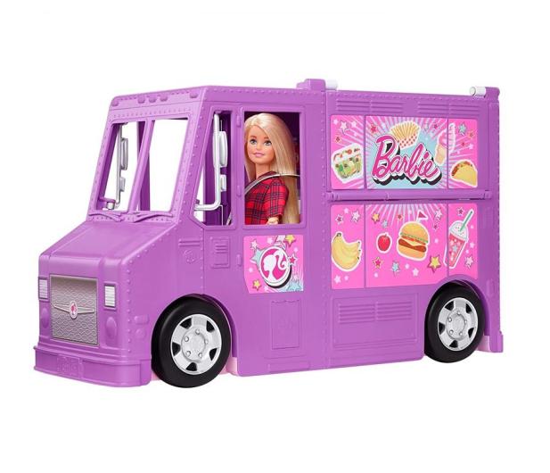 Barbie Foodtruck Zestaw do zabawy - 573549 - zdjęcie