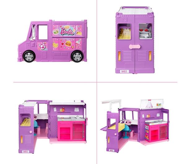 Barbie Foodtruck Zestaw do zabawy - 573549 - zdjęcie 2