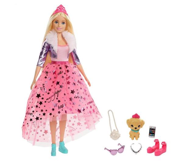 Barbie Przygody Ksiezniczek Ksiezniczka Barbie blondynka - 573537 - zdjęcie