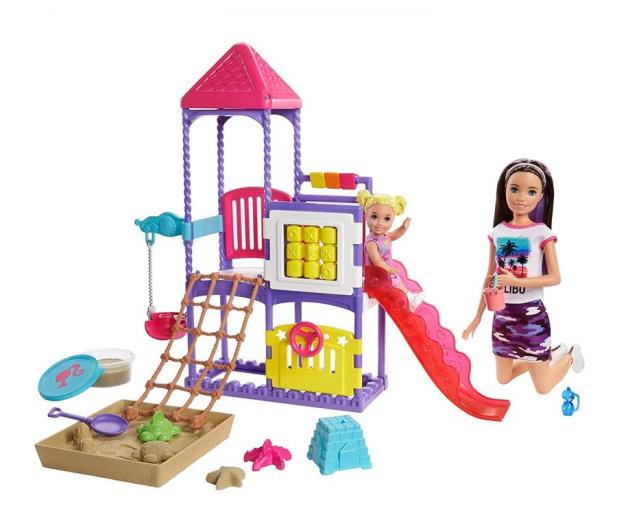 Barbie Skipper Klub opiekunek Plac zabaw Zestaw - 573540 - zdjęcie