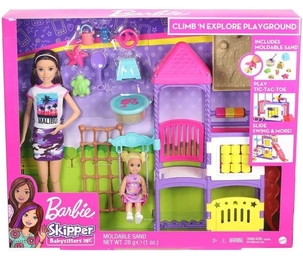 Barbie Skipper Klub opiekunek Plac zabaw Zestaw - 573540 - zdjęcie 5