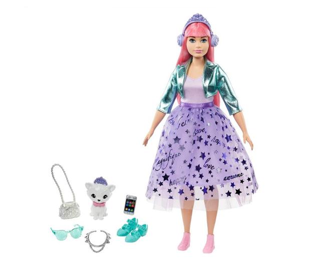 Barbie Przygody Księżniczek Księżniczka Daisy różowe włosy - 573538 - zdjęcie