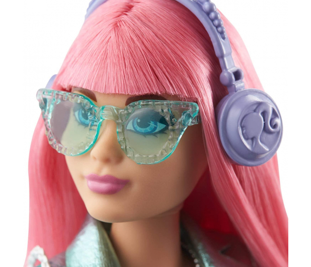 Barbie Przygody Księżniczek Księżniczka Daisy różowe włosy - 573538 - zdjęcie 3