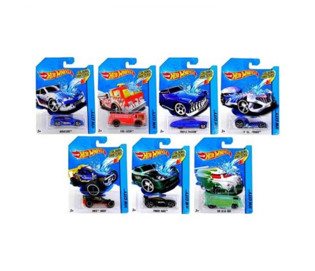 Hot Wheels Samochodzik zmieniający kolor  - 573564 - zdjęcie