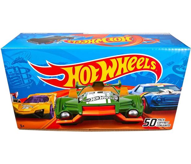 Hot Wheels Samochodziki 50-pak - 573566 - zdjęcie 3
