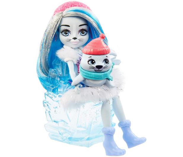 Mattel Enchantimals Snow Valley Zimowe wędkowanie Zestaw - 573554 - zdjęcie 3
