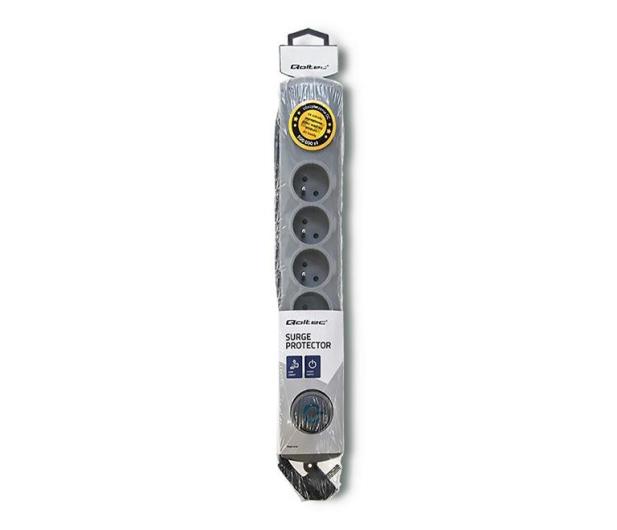 Qoltec Quick Switch - 6 gniazd, 1,8m - 462007 - zdjęcie 4