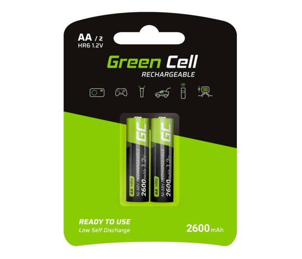 Green Cell 2x AA HR6 2600mAh - 573958 - zdjęcie