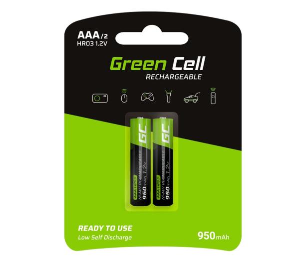 Green Cell 2x AAA HR03 950mAh - 573963 - zdjęcie