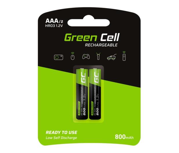 Green Cell 2x AAA HR03 800mAh - 573964 - zdjęcie