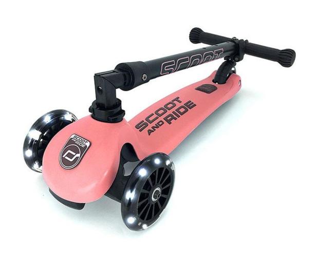 Scoot & Ride Highwaykick 3 LED Hulajnoga Balansowa 3+ Peach - 580582 - zdjęcie 3