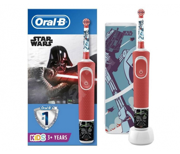 Oral-B D100 Kids Star Wars + Etui Podróżne - 580753 - zdjęcie
