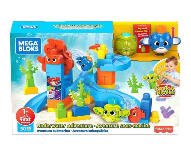 Mega Bloks A kuku Podwodna Przygoda - 581689 - zdjęcie 2