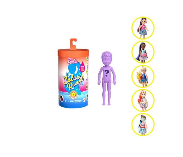 Barbie Color Reveal Kolorowa Niespodzianka Chelsea #3 - 581710 - zdjęcie 2
