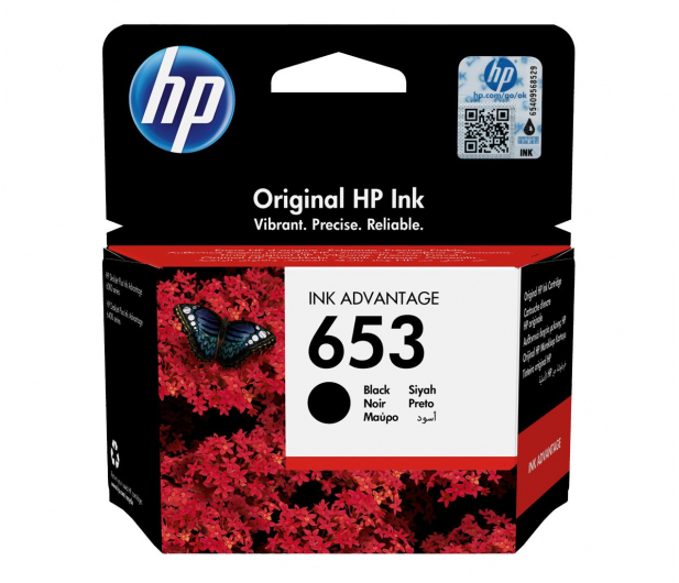 HP 653 Black 360str. - 581045 - zdjęcie