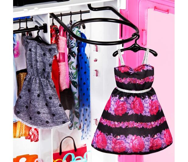 Barbie Szafa na ubranka + Lalka fashionistas - 488466 - zdjęcie 5