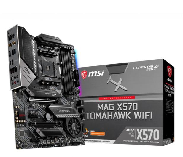 MSI MAG X570 TOMAHAWK WIFI - 581327 - zdjęcie