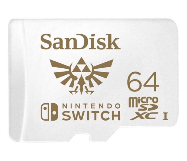 SanDisk 64GB microSDXC 100MB/s A1 V30 Nintendo Switch - 581870 - zdjęcie