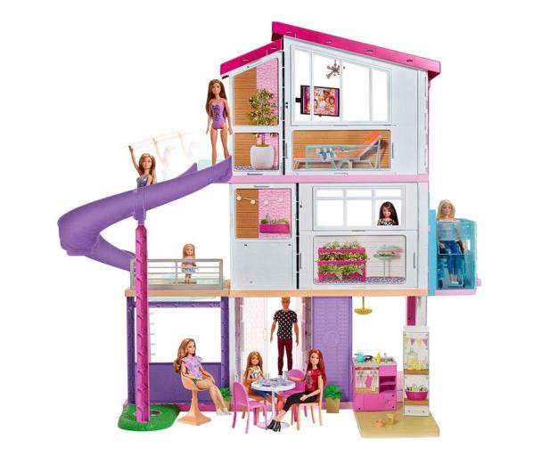 Barbie Idealny Domek dla lalek nowa winda - 581671 - zdjęcie 2