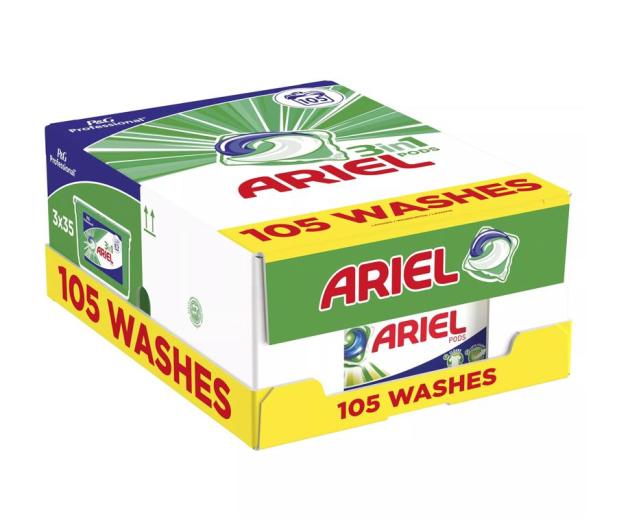 Ariel Kapsułki do prania Kolor MegPack 3x35szt - 582038 - zdjęcie