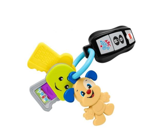 Fisher-Price Podróżne kluczyki - 1007601 - zdjęcie