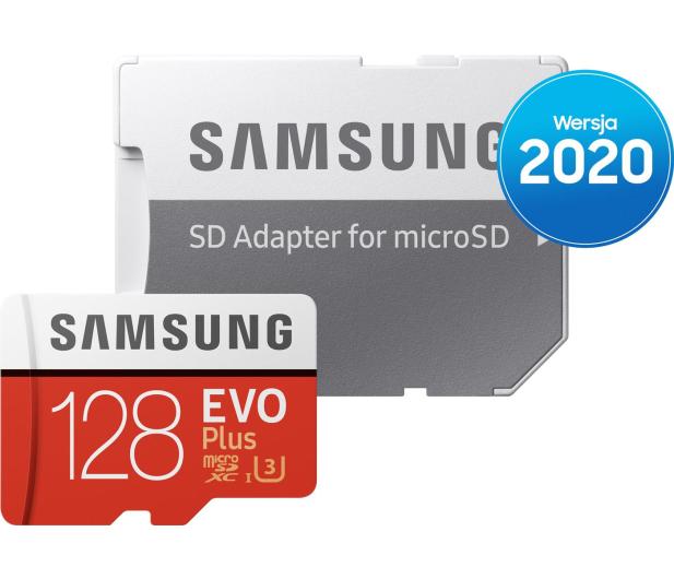 Samsung 128GB microSDXC Evo Plus zapis60MB/s odczyt100MB/s - 577325 - zdjęcie 4