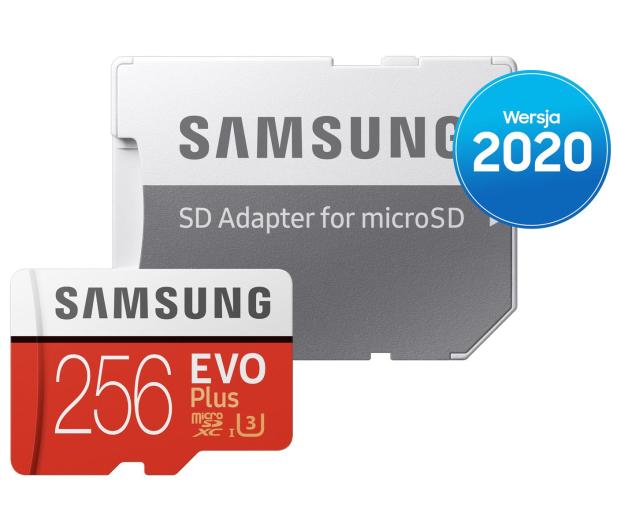 Samsung 256GB microSDXC Evo Plus zapis90MB/s odczyt100MB/s - 577328 - zdjęcie 4