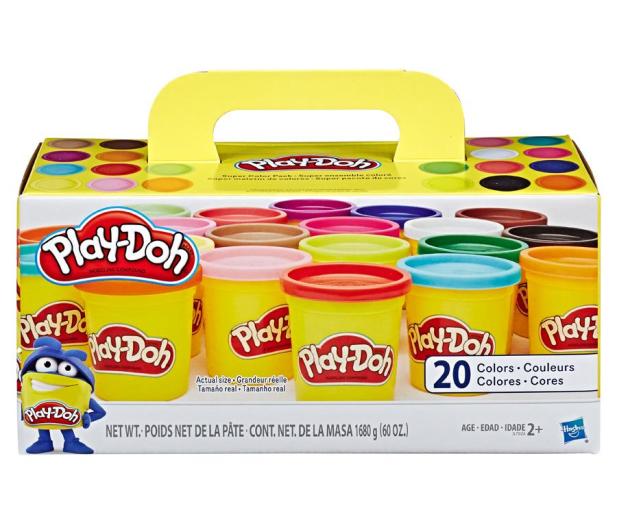 Play-Doh Zestaw 20 tub - 529837 - zdjęcie