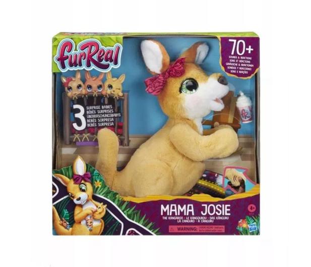 Furreal Friends Interaktywny kangur Mama Josie - 1008092 - zdjęcie 2