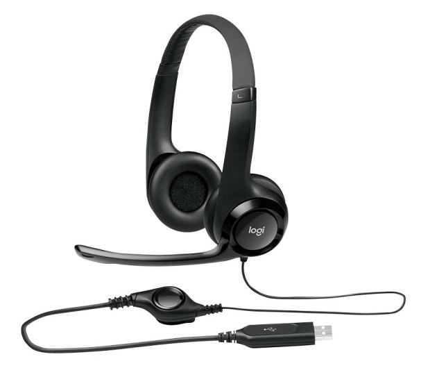 Logitech H390 Headset czarne z mikrofonem - 71783 - zdjęcie 5