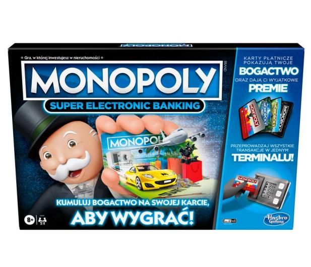 Hasbro Monopoly Super Electronic Banking - 1008089 - zdjęcie